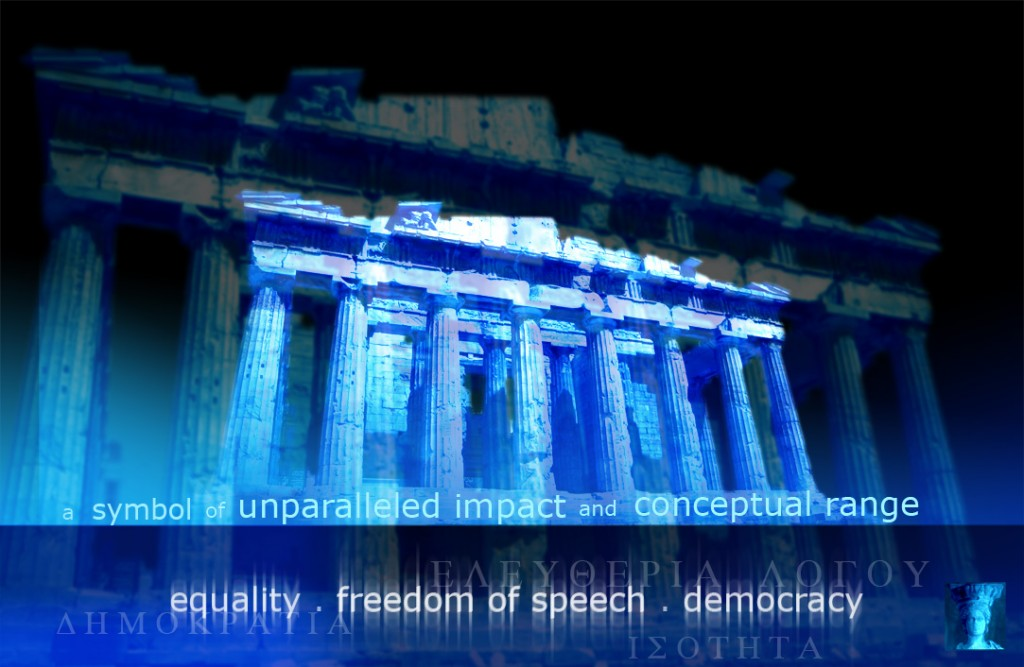 The Acropolis symbolises freedom of speech and democracy