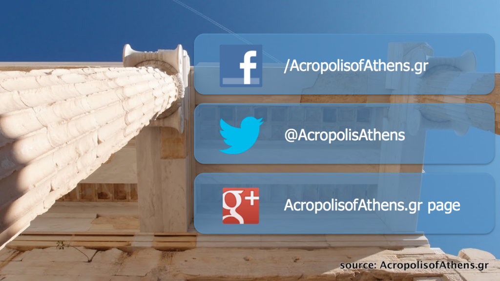 AcropolisofAthens.gr on social media