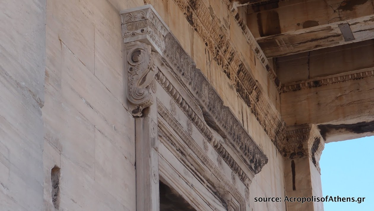 Erechtheion (detail of door frame)